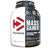 Dymatize Super Mass Gainer Rich Chocolate 2,9kg - Weight-Gainer Pulver + Kohlenhydrate, BCAAs und Casein