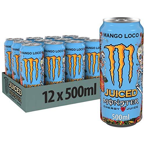 Monster Energy Mango Loco, 12x500 ml, Einweg-Dose,...