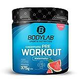 Bodylab24 Concentrated Pre Workout 375g   Pre-Workout Booster mit Aminosäuren und Koffein   Wassermelone