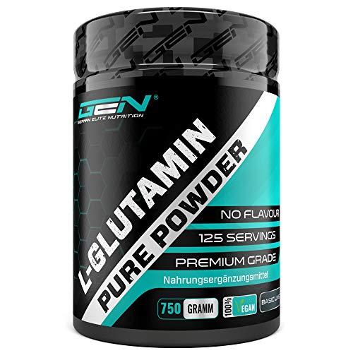 L-Glutamin Pulver - 750 g - Premium: Reines &...
