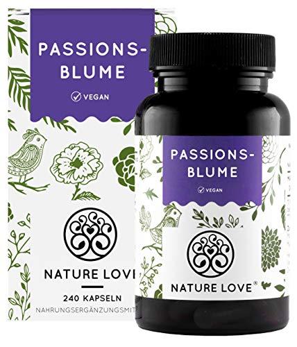 NATURE LOVE® Passionsblume Extrakt - 240 Kapseln,...