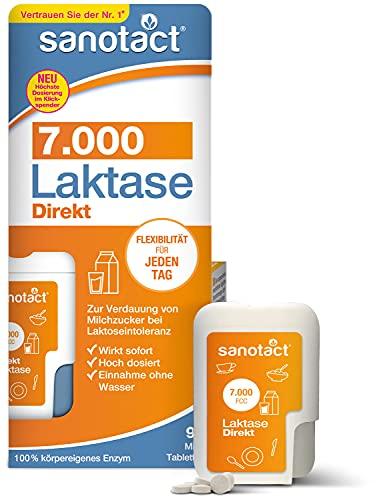 sanotact Laktase 7.000 Direkt • 90 Mini-Laktose...