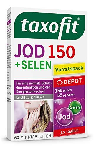 taxofit® Jod Depot Tabletten   Für eine normale...
