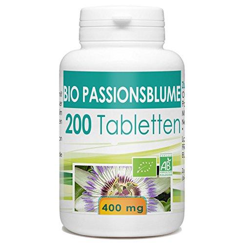 Bio Passionsblume 400mg - 200 Tabletten
