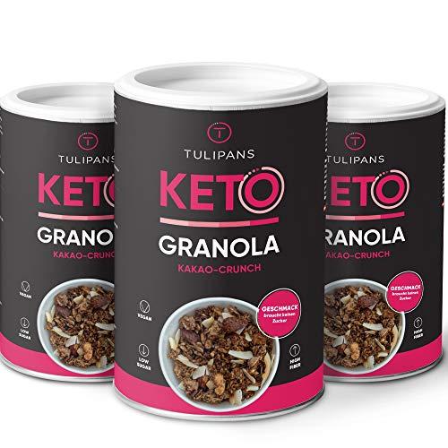 Tulipans Keto Kakao-Crunch Granola - Low Carb...