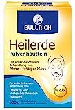 Bullrich Heilerde Pulver hautfein   Hilfe bei Akne fettiger und unreiner Haut Cellulite Muskel und Gelenkbeschwerden   zur äußeren Anwendung, 500 g