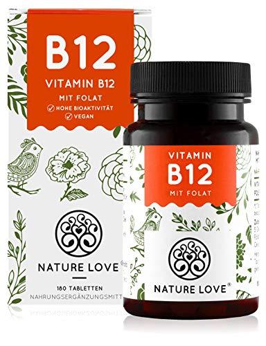 NATURE LOVE® Vitamin B12 Vegan - 180 Tabletten....