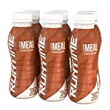 Runtime Liquid Meal - Chocolate   Vollwertiger Mahlzeitersatz, lange Sättigung & Leistungsfähigkeit   23 Vitamine & Mineralien   6 x 330ml