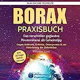 Borax: Praxisbuch: Das verschollen geglaubte Powermineral als Geheimtipp!: Gegen Arthrose, Arthritis, Osteoporose & zur Aktivierung der Zirbeldrüse. #Weißes Gold